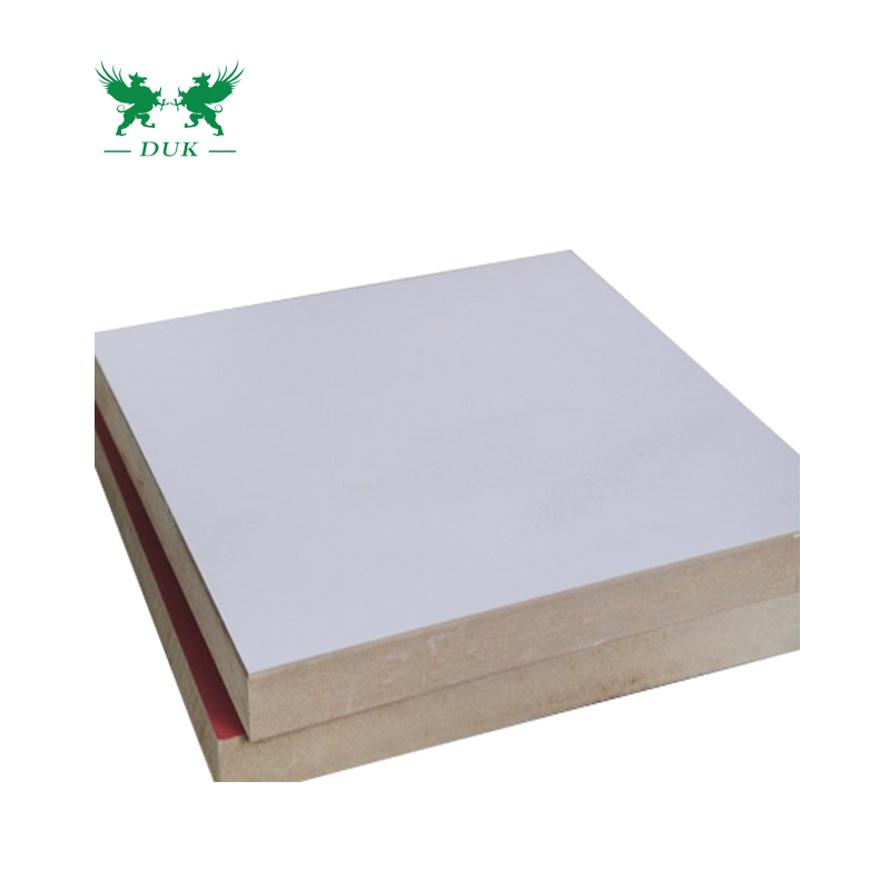 High Density Cheap <strong>Price</strong> 18mm <strong>Melamine</strong> White <strong>MDF</strong> Board/<strong>MDF</strong> Sheet