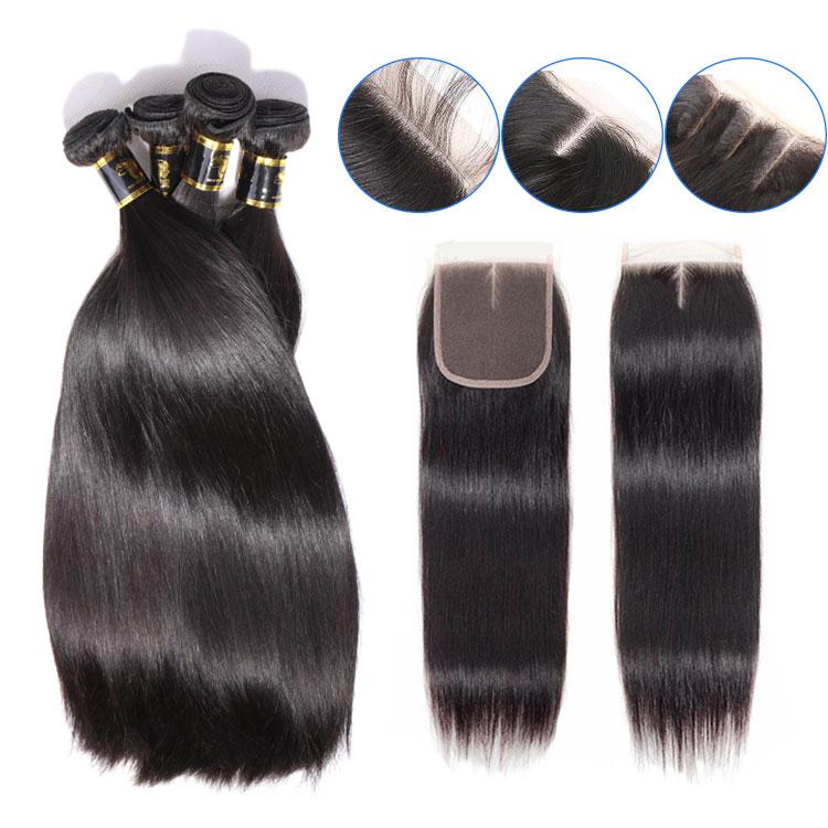 Wholesale Human Hair Weave Bundles Brazilian Hair, Virgin Brazilian Hair Vendor, 12a Single Donor Raw Blonde 613 Virgin Hair
