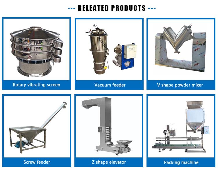 300liters dry food powder V shape mixing machine for protein powder