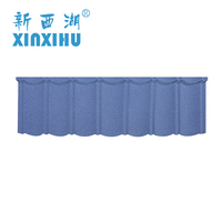 Hanghzou color stone coated metal roofing tiles Roof insulation