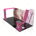 Trade Show Booth Exhibition Stand Exhibit Booth 3x6 Aluminium Stands Design Trade Show Booth Display Exhibition Booth Material