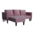 High quality best price lounge retro furniture modern sofa bed