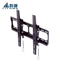 Best selling items steel LED LCD Plasma universal full vision tiltable wall mounted tv rack
