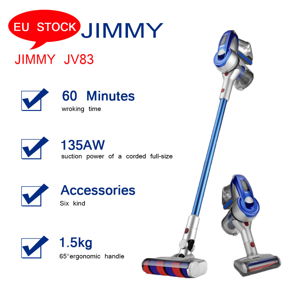 [EU STOCK]Global version Xiaomi JIMMY JV83 Cordless Stick Vacuum <strong>Cleaner</strong> 60 Minute Run Time Anti-winding Hair Mite Cleaning