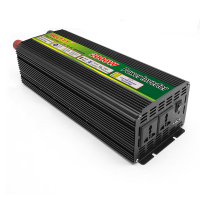 2000Watt 2KW 12V/24V/48VDC to 110V/220V AC High Frequency Single Phase Power Inverter Modified Sine Wave Air Conditioner