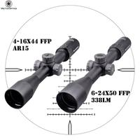 Best Price Guarantee Vector Optics FFP Marksman 4-16x44 6-24x50 US Optical PCP Rifle Air Gun Weapons Hunting Scope