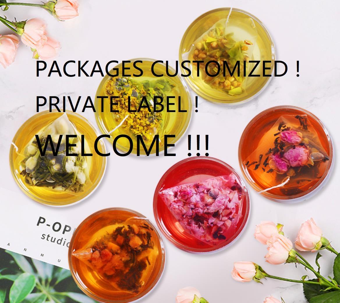 Wholesale Jasmine/ Osmanthus /peach /rose/ apple mixed Oolong tea for milk tea materials - 4uTea | 4uTea.com
