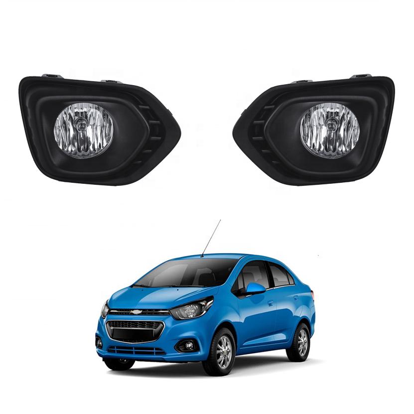 Xenon Halogen Fog Lamps Driving Lights Kit For 2012-2018 Chevrolet Spark Chevy