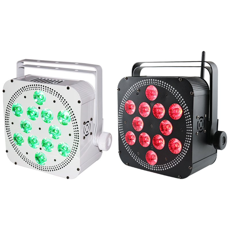 Grace 12*18W 6in1 LED Battery Par Can Wireless DMX Wedding Stage Light