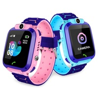 Kids calling Waterproof GPS Finder Locator Anti Lost SmartWatches Children Watch Phone For IOS Android