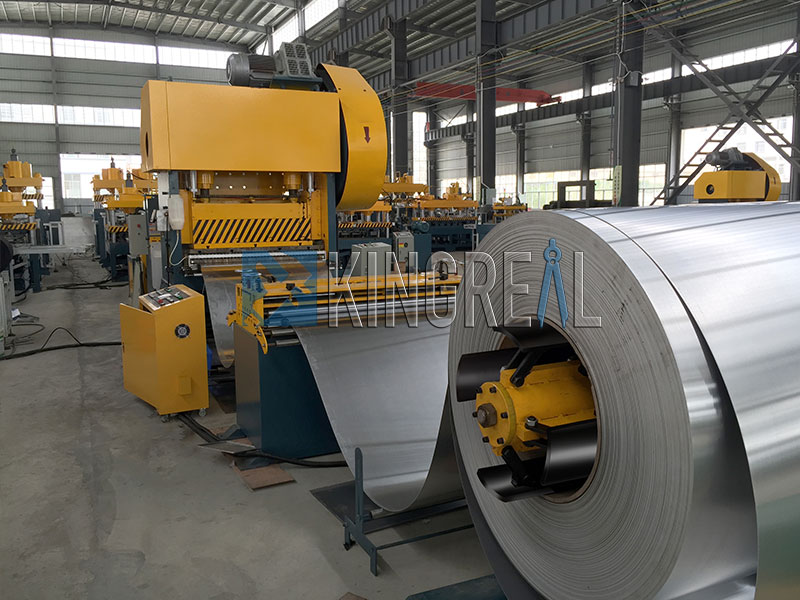 metal suspended ceiling system making machine production line