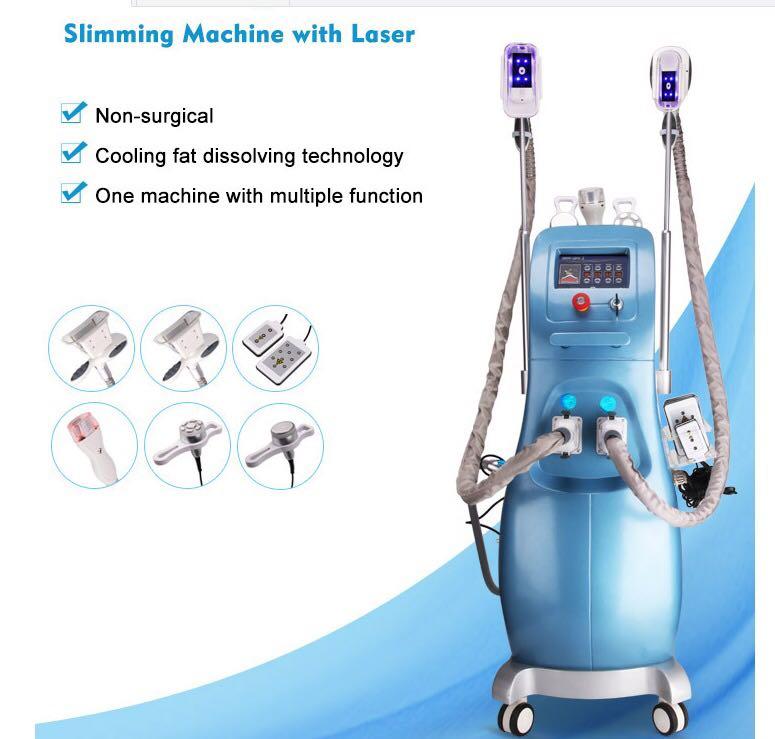 Salon Apparatuur Vet Bevriezing Draagbare Cryolipolysis Machine Voor Thuisgebruik