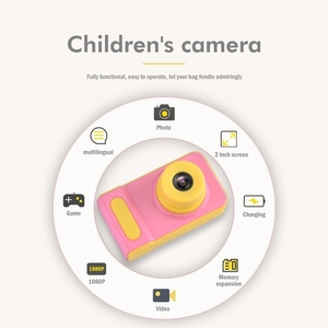 Warmwave 2.0 inch Kids Action Camera for Children camera Digital Video HD Camcorder DV for Holiday Birthday Gift