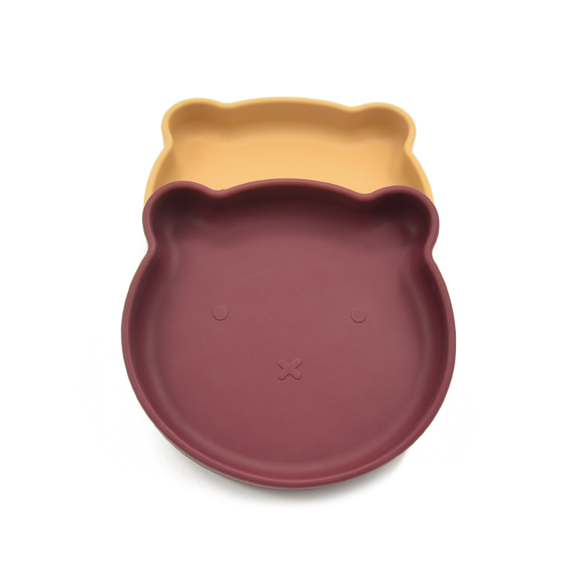 Всасывание горячего тиснения силиконовой резины пластины пищевой