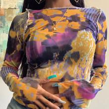SUCHCUTE граффити женские футболки готические топы с принтом Лето 2020 винтажные Графические футболки Эстетическая женская одежда lil peep(China)