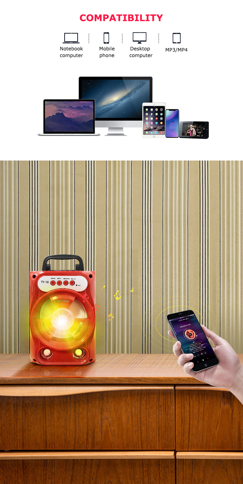 Meest Populaire Consumentenelektronica Mine Bluetooth Speaker Mobiele Telefoon Accessoires Mobiele Telefoon Speaker