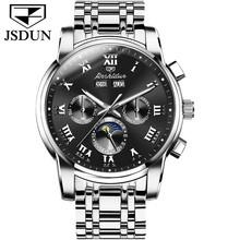 2020 новые мужские часы Топ бренд Роскошные сапфировые часы автоматические механические часы фазы Луны для ролевых наручных часов трендовые(Китай)
