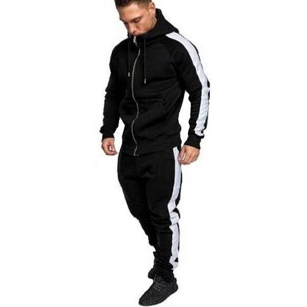 2019 Autumn Winter Sport outdoor Suits Men Hoodies Sets Men Sportswear Running Jogging Suit Male Tracksuit