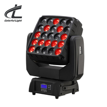 VOLLE FARBE modus (RGBW) 25pcs 12W LED RGBW 4-in-1 LED Matrix Moving Head Licht