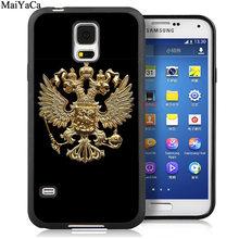 MaiYaCa русский Герб Флаг мягкие резиновые телефонные чехлы для samsung Galaxy S6 S7 edge S8 S9 S10 Plus Lite Note 8 9 задняя крышка(Китай)