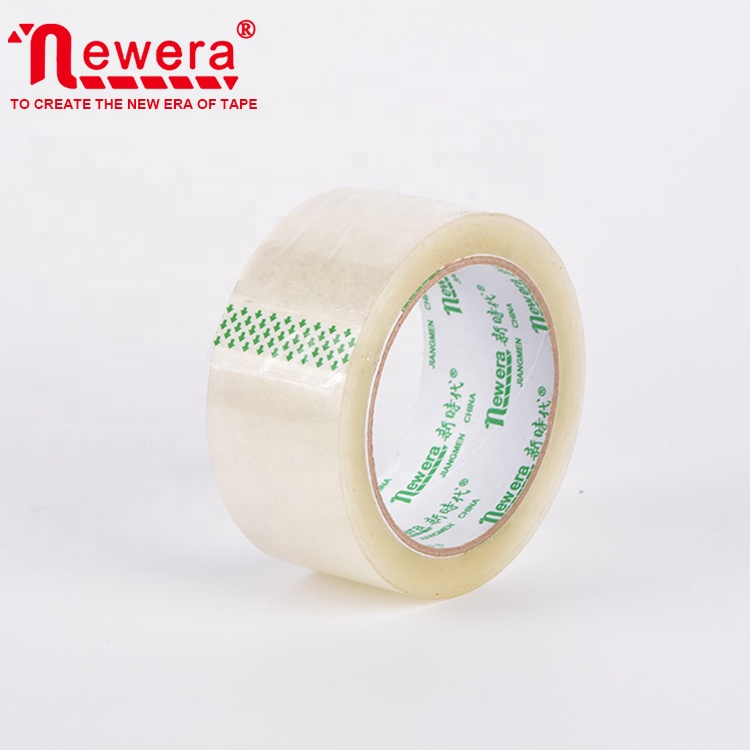 Wit Transparant 45Mm 100Yard Bopp Acryl Adhesive Tape Voor Carton Sealing
