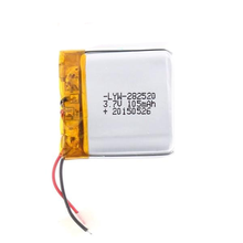 Hot lithium polymer <span class=keywords><strong>pin</strong></span> <span class=keywords><strong>hight</strong></span> chất lượng 3.7V 105mah 282520 <span class=keywords><strong>pin</strong></span> có thể sạc lại