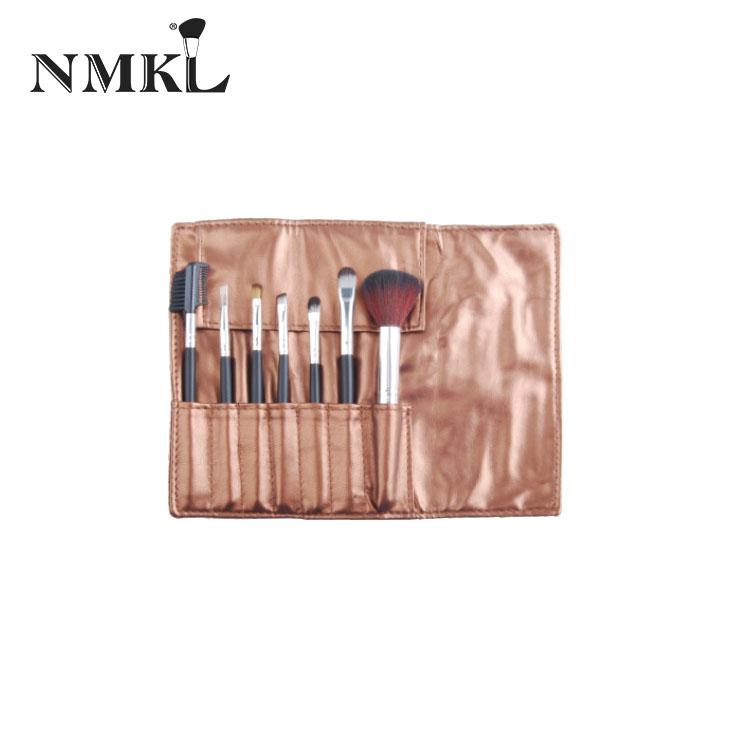 7 makyaj fırçası özel saplı ahşap saç fırçası kişiselleştirilmiş farklı allık NMKL beyaz karıştırma yapar