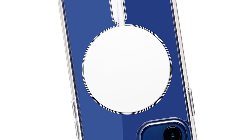 Ithal Bayer hammadde kullanılır manyetik Magsafe telefon kılıfı hızlı kablosuz şarj için Magsafe telefon çantası