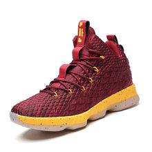 Баскетбольная обувь для мужчин и женщин, повседневная спортивная обувь с высоким берцем, нескользящая обувь, легкие дышащие кроссовки для б...(Китай)