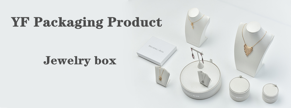 Custom black enamel pendant silver packaging jewellery box with ribbon