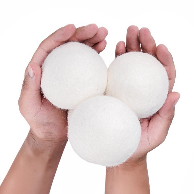 6 Pacchetto Xl 100% Pura Lana Dryer Balls Lana Organica Asciugatrice a Sfera con Olio Essenziale