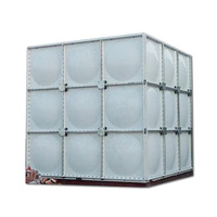Factory Price Hot products sectional water storage tank frp grp smc panel tank for uae