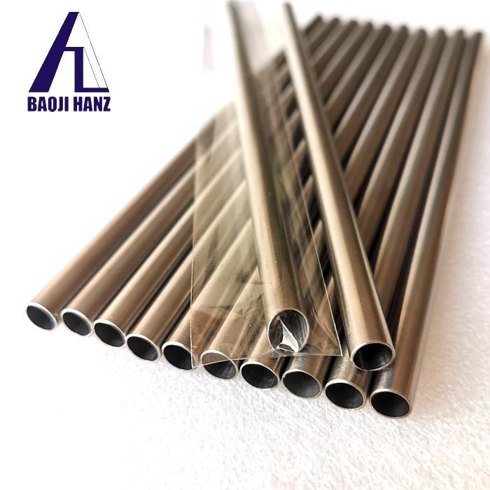 OD2.5inches GR2 seamless titanium tube pipe for motor exhaust pipe
