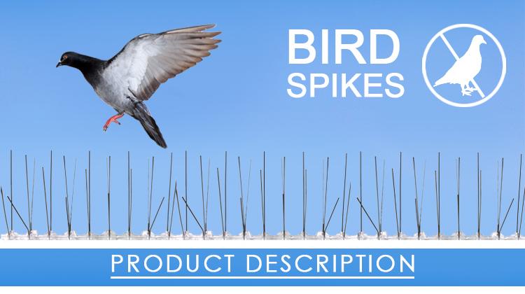 GKPC-72 летающая птица борьба с вредителями против укоренения шипы для отпугивания птиц