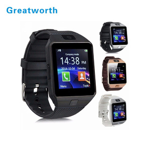 Factory SmartWatch DZ09 Smart Watch With Camera Answer Call DZ09 Watch For Iphone For Android