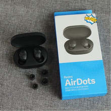 2020 Hot Earphone Xiaomi Airdots HITAM Earbud Serta <span class=keywords><strong>Benar</strong></span> Nirkabel Headphone BT 5.0 TWS Redmi Airdots