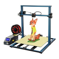 Shenzhen professional desktop 3d print large creality cr-10 s5 electronic kit 3d printer for doll with cooling fan