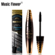 Music Flower Volume Thick Longlasting Makeup Curling Eyelashes Extension Liquid Waterproof Wholesale Younique 4D Lash Mascara