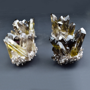 Wholesale Natural Beautiful Citrine Smoky Quartz Cluster Crystal Cluster For Decoration