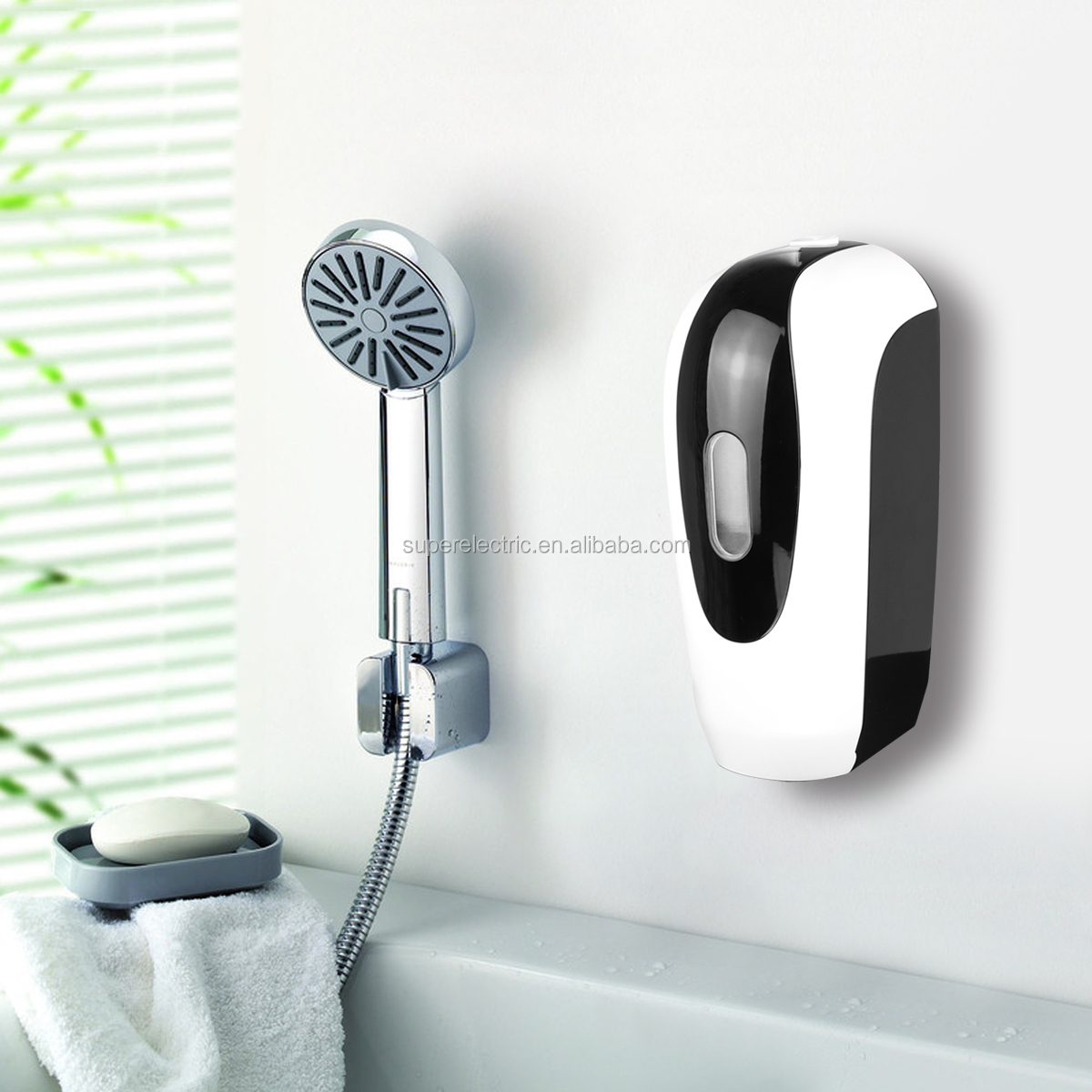 2020 New Tech wall mounted Automatic Soap Dispenser Touchless Liquid Foaming Spray Infrared Sensor Soap Dispenser