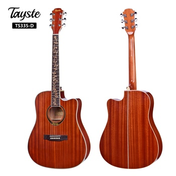 New design high quality custom full size China acoustic guitar electric