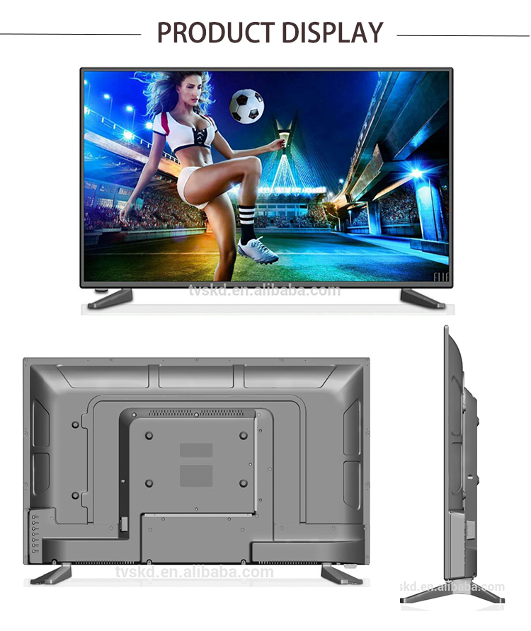 Good price big screen hd tv of narrow frame with full HD support wide replacement lcd tv screen