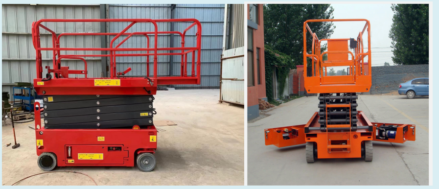 12 m self-propelled scissor lift/price small hydraulic scissor lift platform