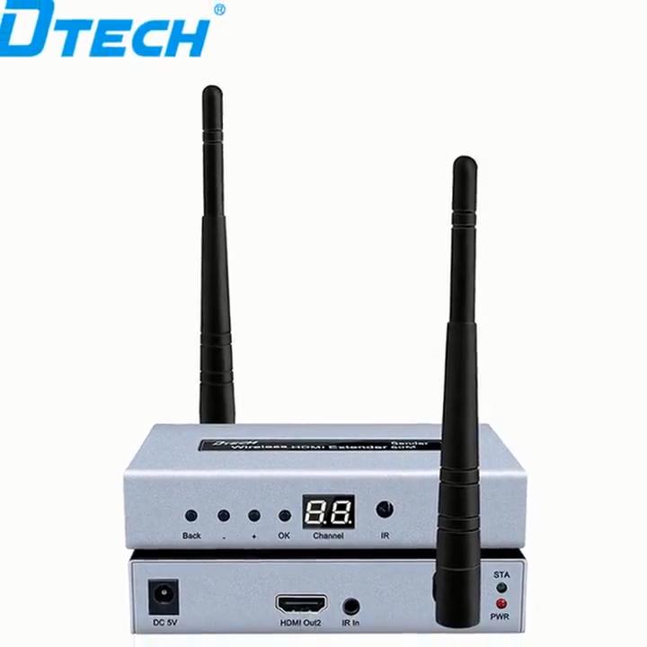 DTECH 500m Range Outdoor HDMI Wireless Audio Video Wi-fi Transmitter HDMI Wireless Extender