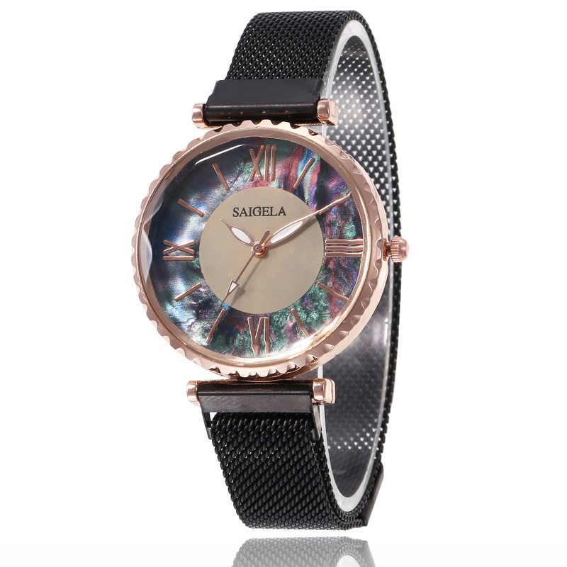 4111 Dropshipping Latest luxury hot sale alloy case <strong>wrist</strong> <strong>watch</strong> <strong>women</strong> fashion Shell quartz <strong>watch</strong> <strong>for</strong> lady