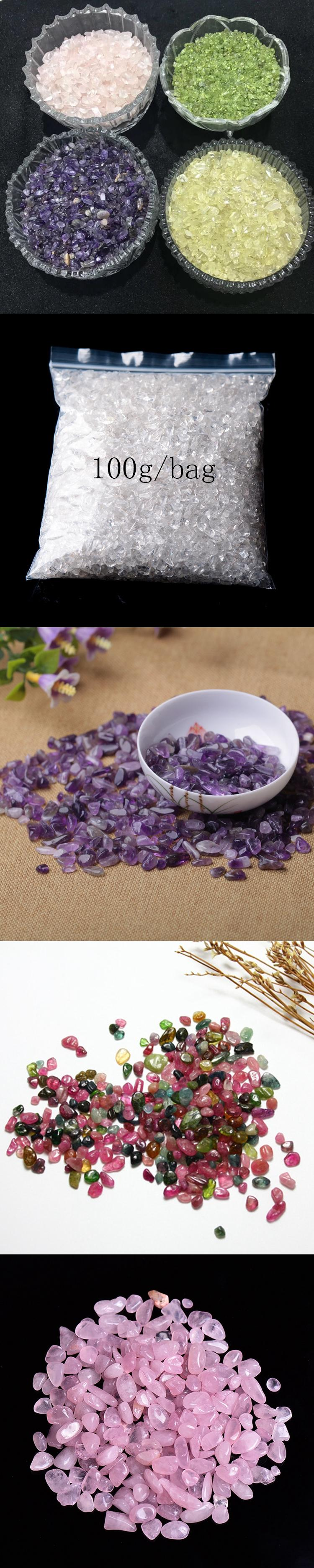 Crystal stones for healing natural raw crystals gemstone chakar chips pendant necklace jewelry
