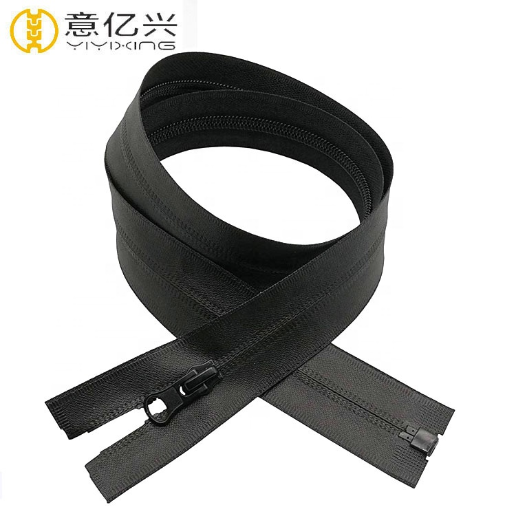 BLACK CLOSED BOTTOM YKK #5 Nylon Coil Water Repellent