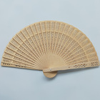 [I Am Your Fans] 2020 custom chinese solid color printed logo foldable colored wooden hand fans