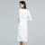 new fashion print chiffon dress 2014
