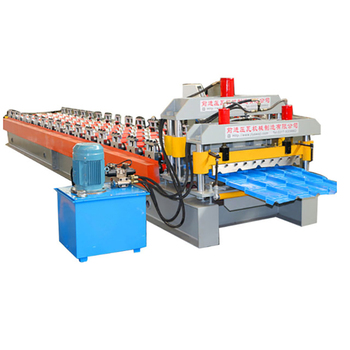 Automatic high speed galvanized or zinc sheet roll forming machinery